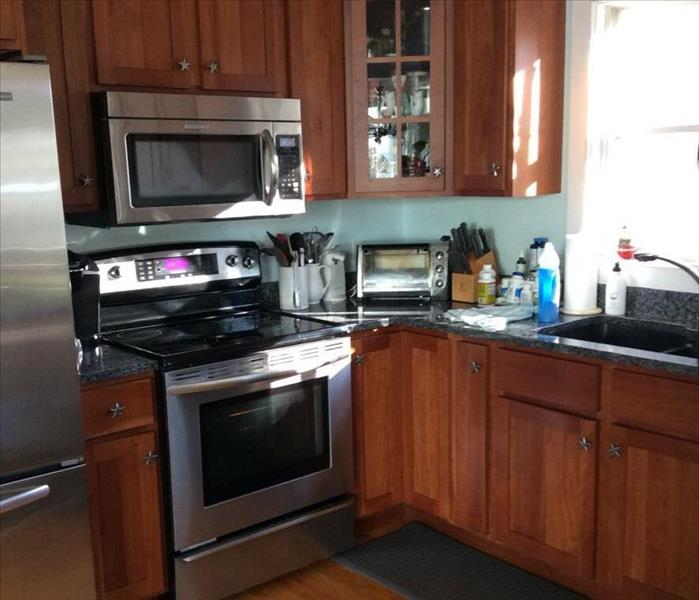 Kitchen Protein Fire Loss in Kennebunkport, Maine