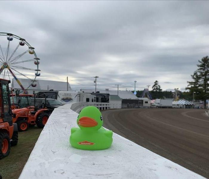 Our mascot squeegee at the Fryeburg Fair